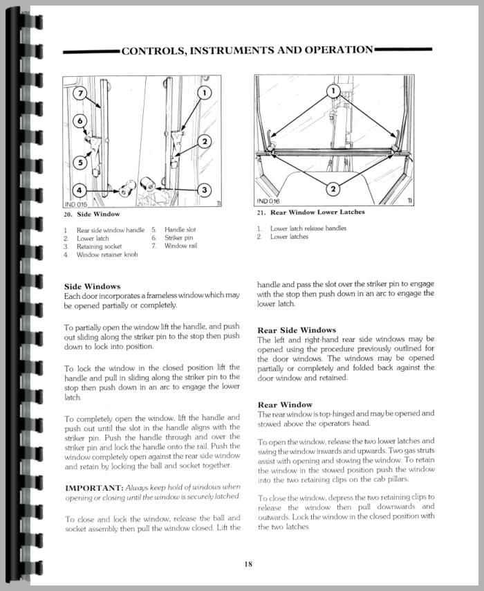 ford 575d tractor loader backhoe operators manual rh agkits com Ford 575D Backhoe Parts Manual Ford 575D Backhoe Parts
