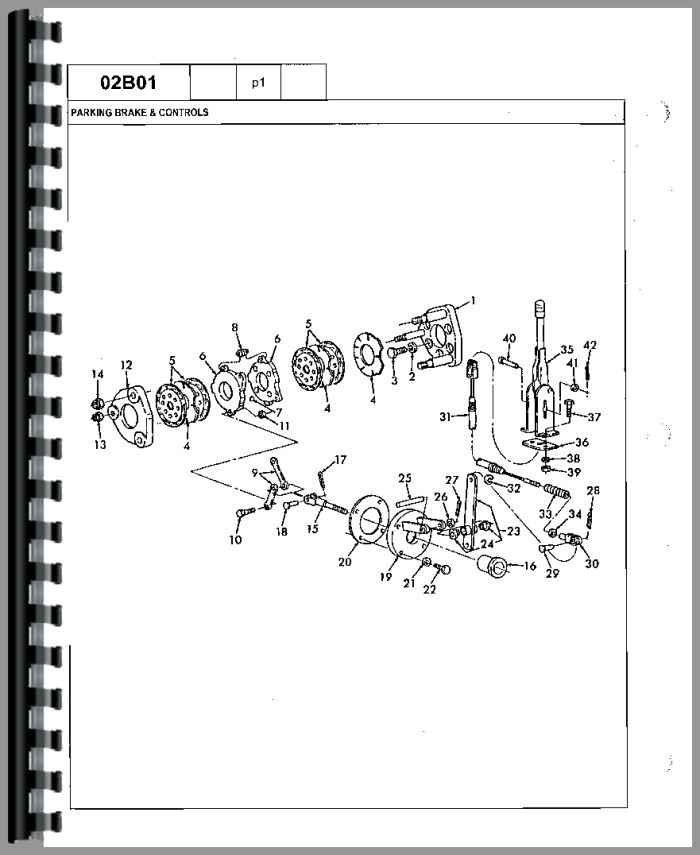 Ford 750 Tractor Loader Backhoe Parts Manual