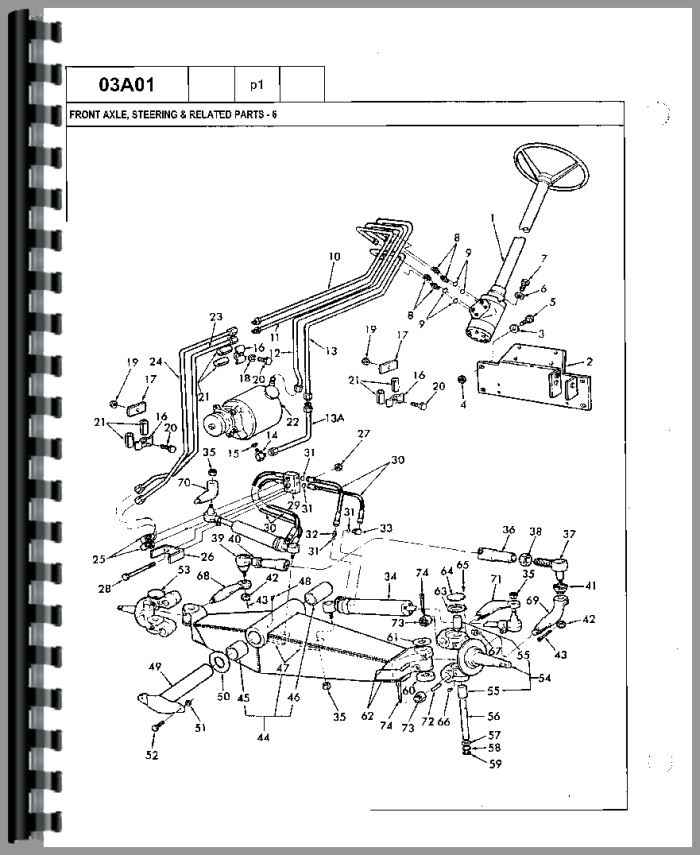 ford 750 tractor loader backhoe parts manual