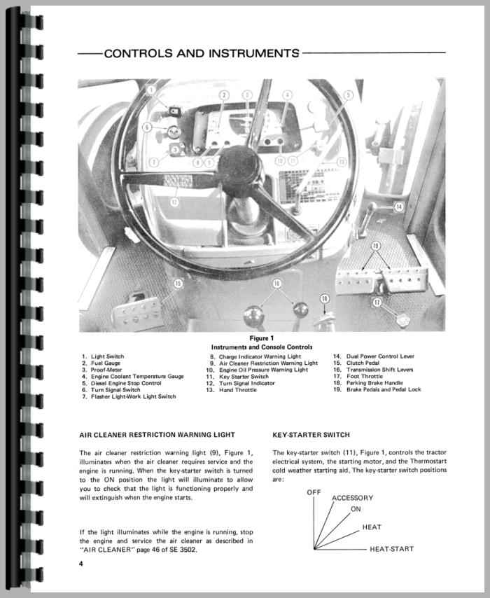 7600 Ford Tractor Parts List : Ford tractor operators manual