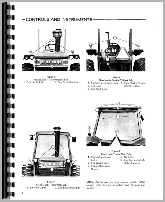 ford 7700 tractor operators manual rh agkits com ford 7700 service manual ford 7700 tractor manual