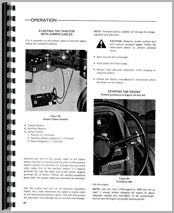 Ford 7700 Tractor Operators Manual  Ford Tractor Alternator Wiring Diagram on ford 9n wiring-diagram, ford tractor 12 volt conversion diagram, ford one wire alternator diagram, ford 800 wiring diagram, diesel tractor wiring diagram, ford 600 wiring diagram, ford tractor shift pattern, john deere b tractor wiring diagram, ford alternator wiring harness, generator to alternator conversion diagram, ford truck alternator diagram, ford 8n alternator conversion diagram, ford 600 tractor wiring, ford 8n hydraulic pressure relief valve, ford alternator parts diagram, ford tractor 4 cylinder diesel engine, ford f-150 starter solenoid wiring diagram, ford tractor hydraulic diagram, ford tractor fuse block diagram, ford tractor electrical diagram,