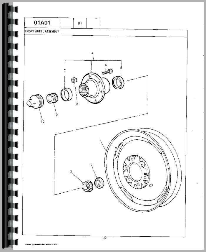 Ford Tractor Parts Manual on Ford 800 Tractor Parts Diagrams