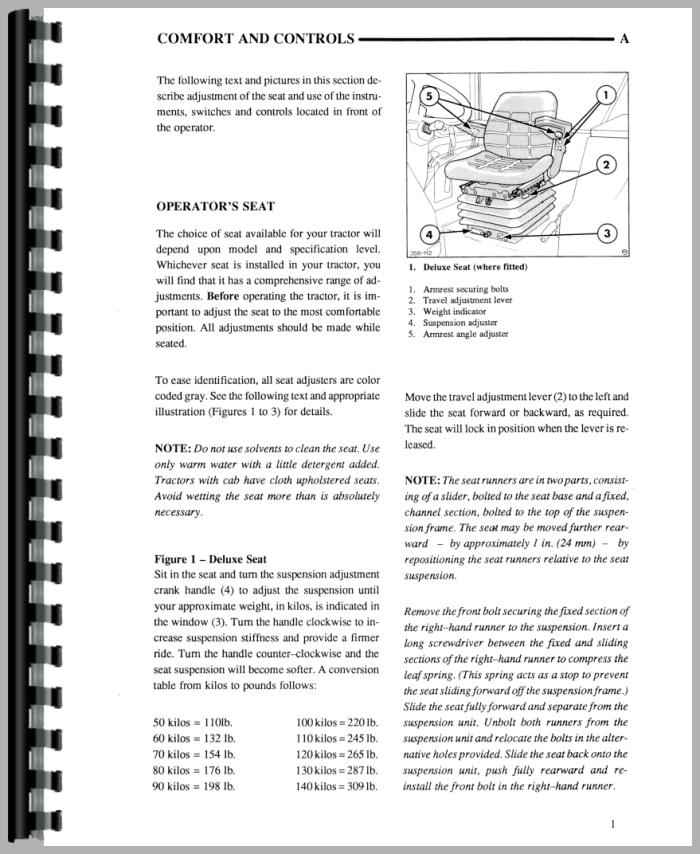 ford 8240 tractor operators manual rh agkits com 1992 8240 Ford Tractor Ford 8240 with Loader