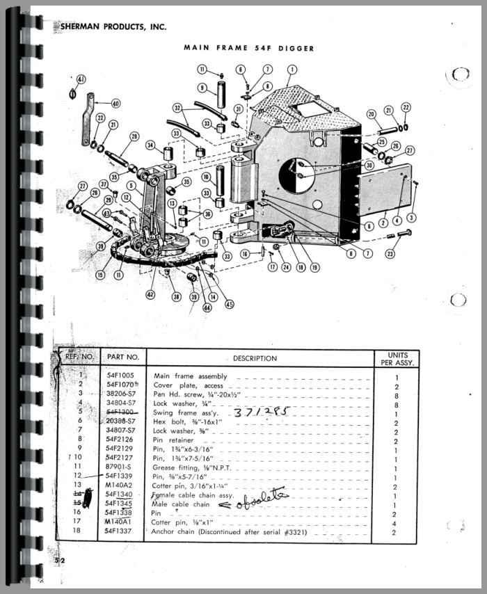 ford 9n sherman 54f backhoe attachment parts manual. Black Bedroom Furniture Sets. Home Design Ideas