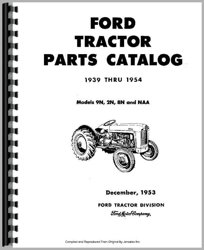 ford 9n tractor parts manual rh agkits com ford 8n tractor manual ford 8n tractor manual free download