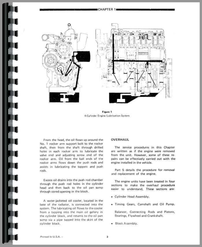 Ford A62 Wheel Loader Service Manual