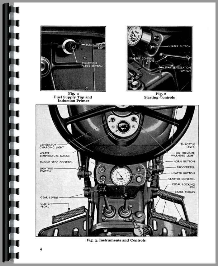 ford dexta tractor operators manual rh agkits com fordson dexta manual pdf fordson dexta service manual