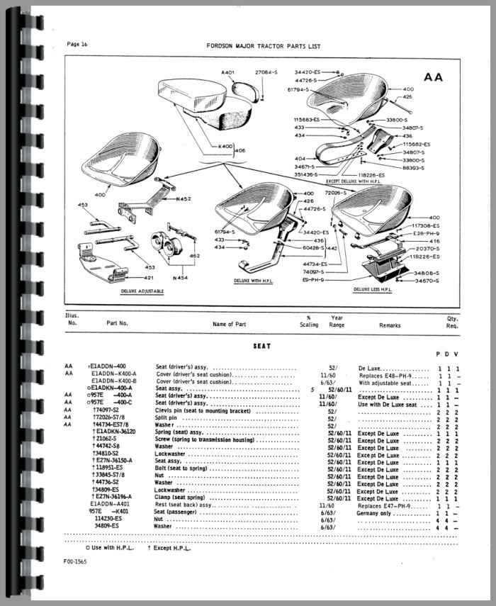 Ford 3610 Tractor Parts Diagram : Ford diesel tractor steering parts imageresizertool