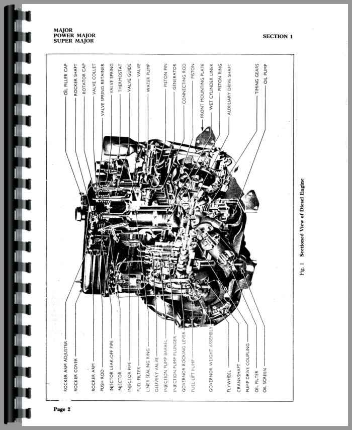 fordson super major diesel tractor