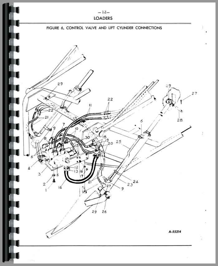 Ford Backhoe Parts List : Ford wagner backhoe attachment parts manual