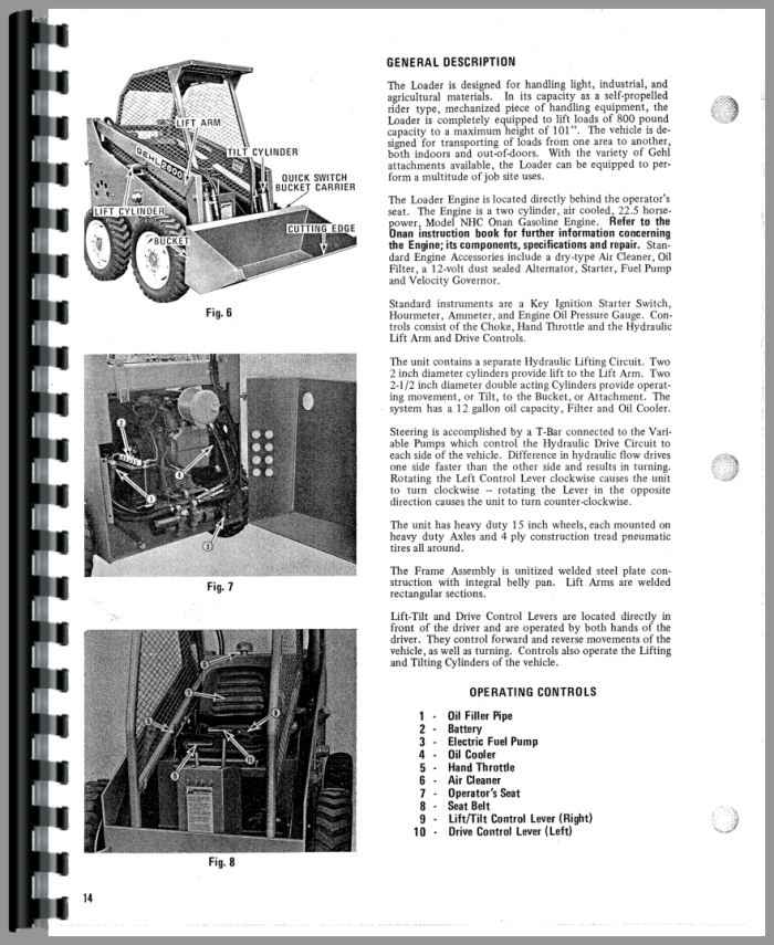 gehl hl2600 skid steer loader operators manual rh agkits com gehl 4625 skid steer service manual Skid Steer Slips