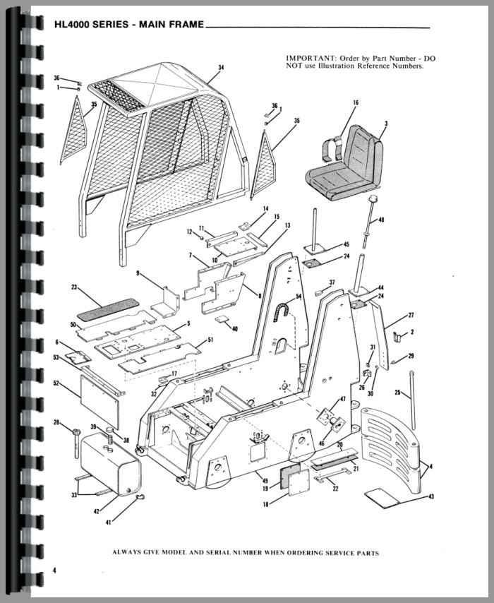 gehl hl4300 skid steer loader parts manual rh agkits com gehl parts manual gehl parts manual 907368