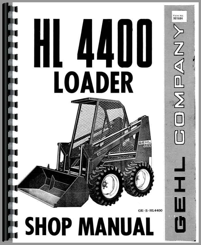 Gehl HL4400 SkidSteer Manual_88764_2__57064 gehl hl4400 skid steer loader service manual gehl skid steer wiring diagram at n-0.co