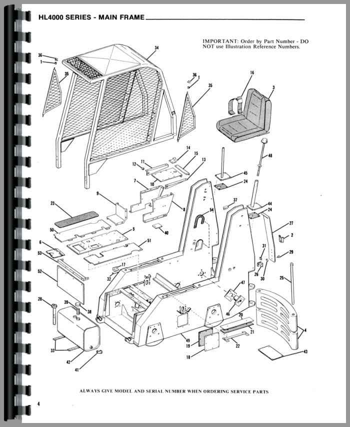 cat skid steer parts manual