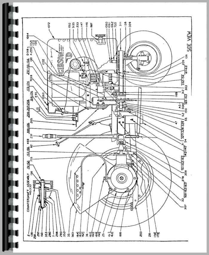 gibson tractor parts manual