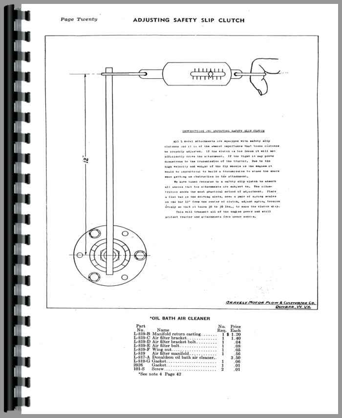 gravely l walk behind tractor service manual rh agkits com gravely 7.6 convertible service manual gravely commercial 10a service manual