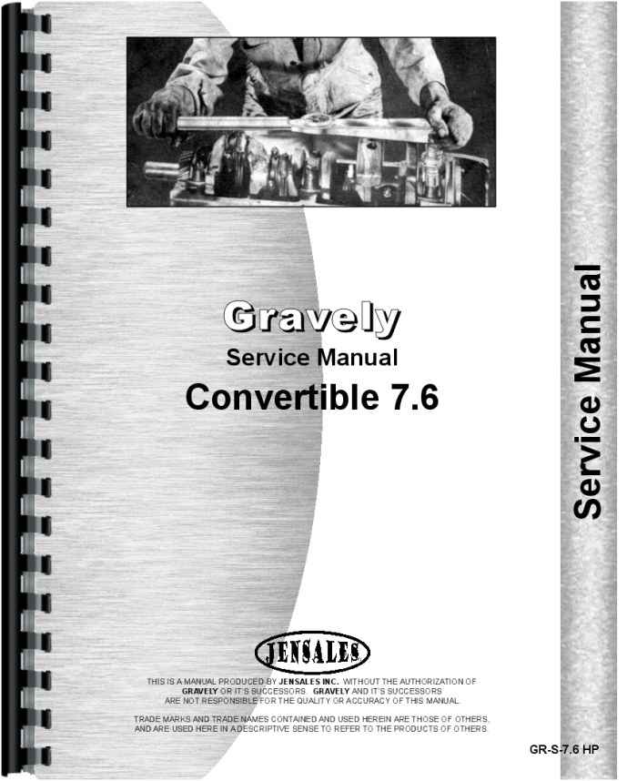gravely l convertible walk behind tractor service manual rh agkits com gravely service manual pdf gravely service manual 30 inch mower deck