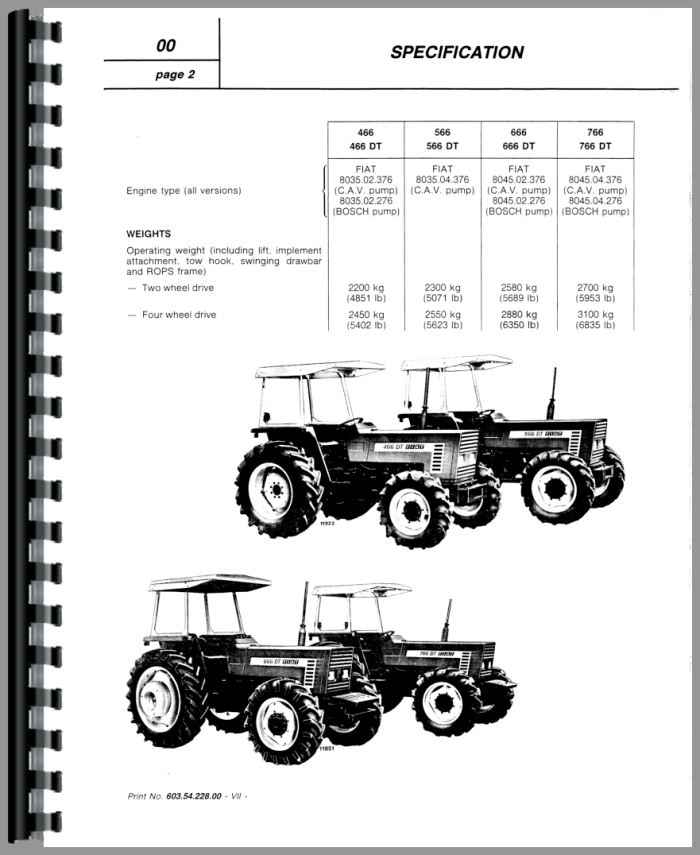 ghdonat.com Hesston 666 Tractor Service Manual Agricultural ...