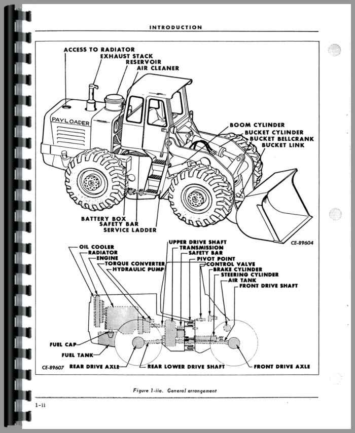 504 International Tractor Part Diagram