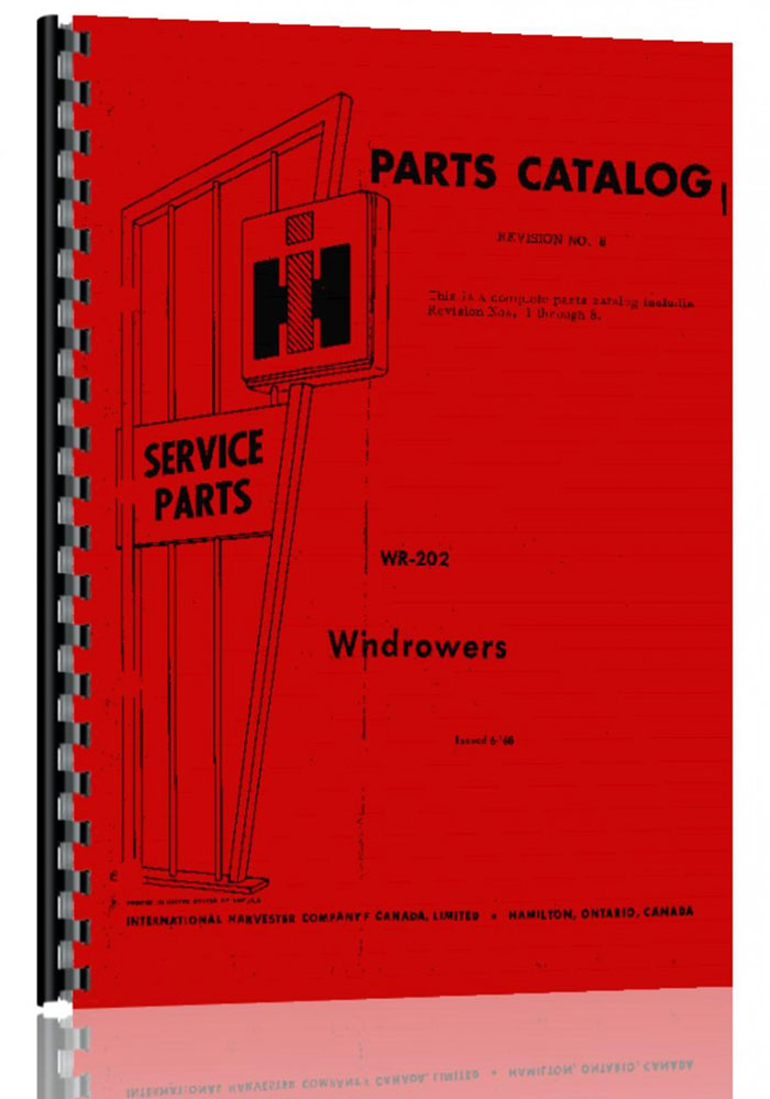 International Harvester Part Numbers : International harvester windrower parts manual