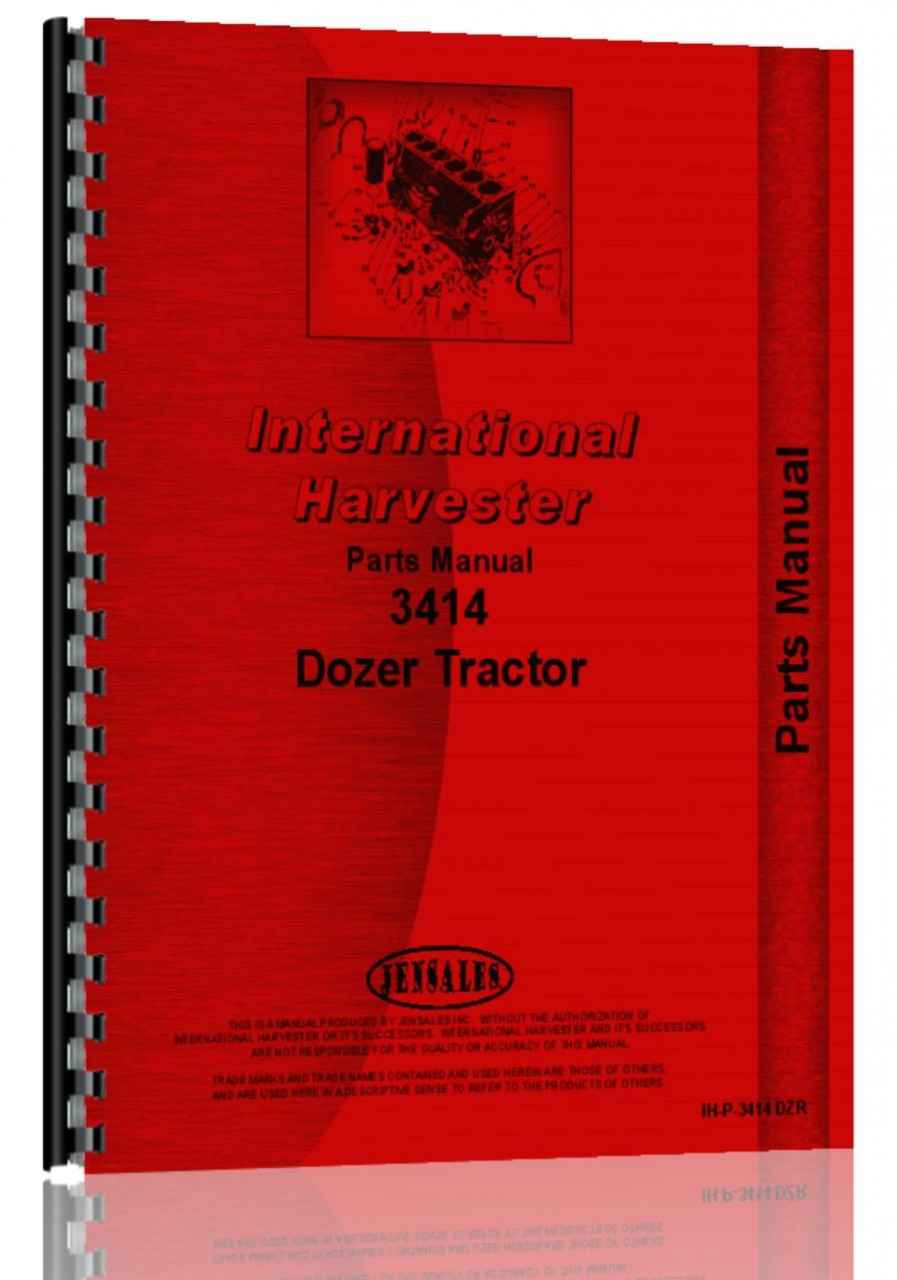 3414 International Tractor Parts : International harvester industrial tractor parts manual