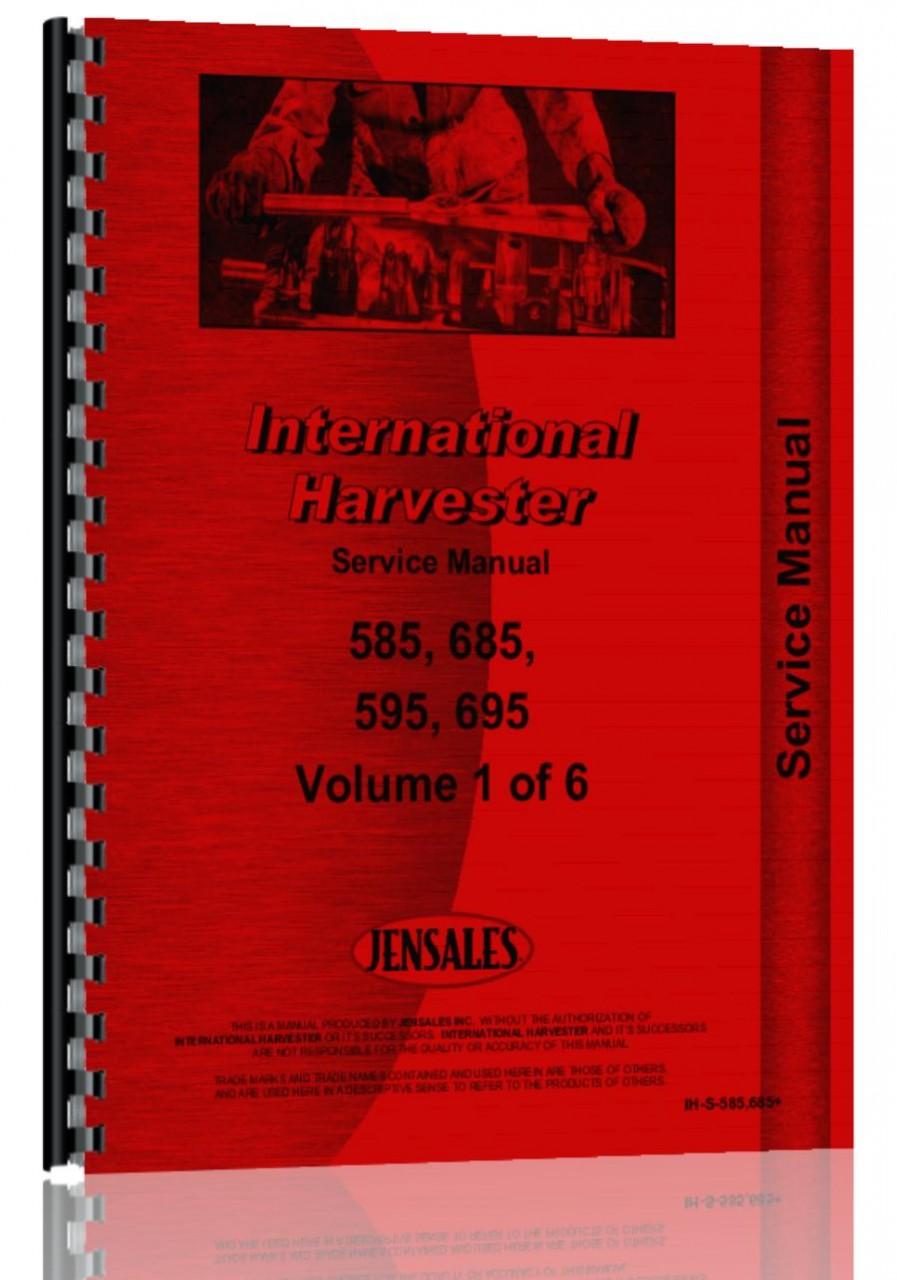 case ih 685 service manual