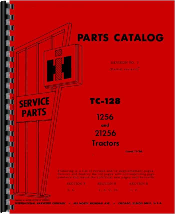 farmall 1256 tractor parts manual rh agkits com Farmall 1468 2013 Farmall