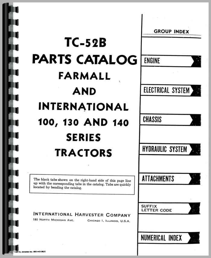 Farmall 130 Parts Diagram Experts Of Wiring Diagram