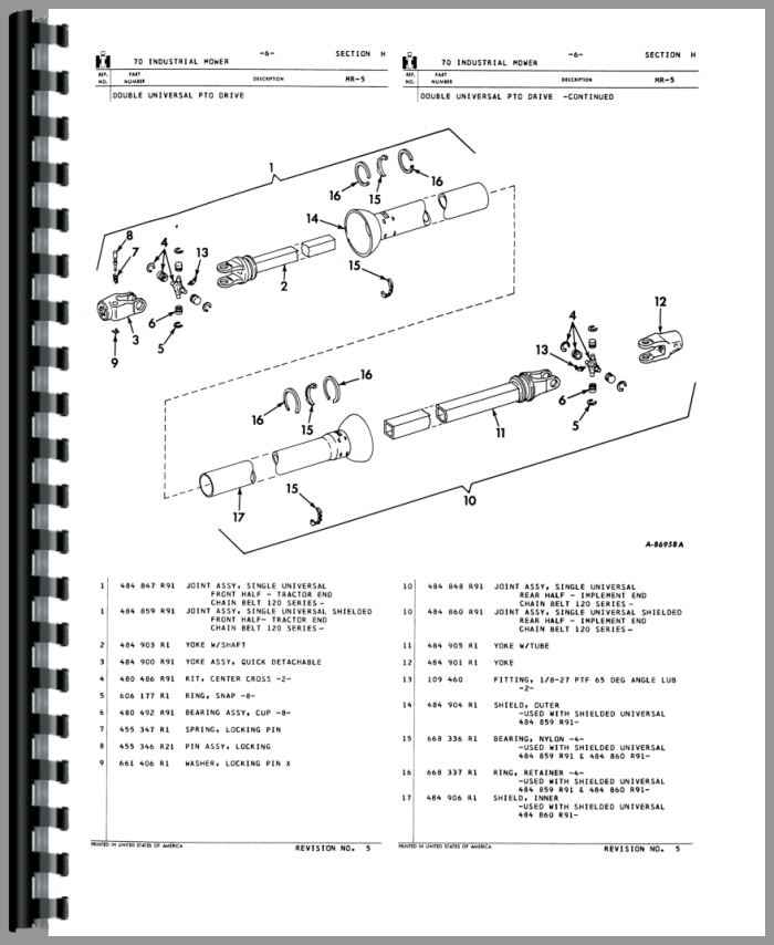 International Harvester 20 Mower Parts Manual (HTIH-PMWR70)