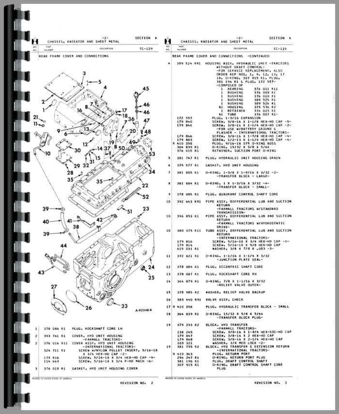 ih 544 parts diagram
