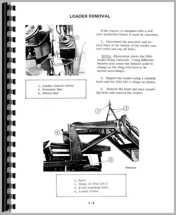 international harvester 385 tractor service manual