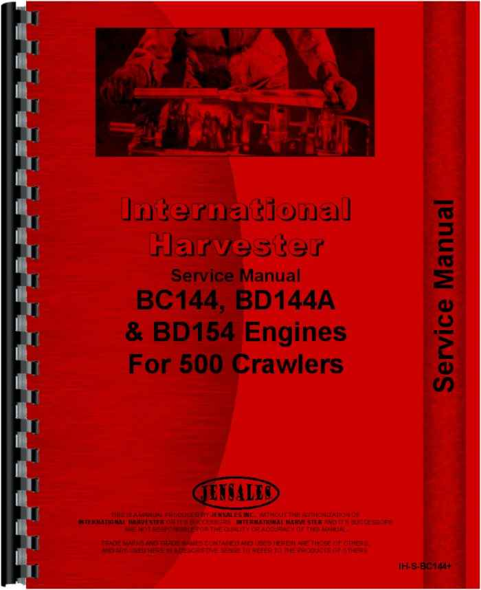international harvester 434 tractor engine service manual rh agkits com ih 434 manual ih 434 service manual