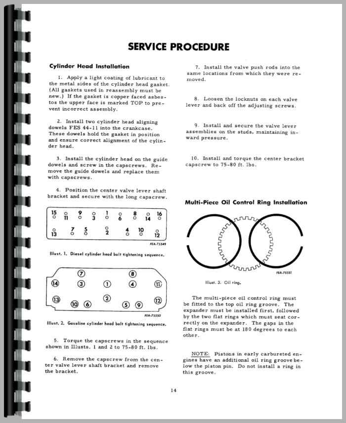 international harvester 434 tractor engine service manual rh agkits com ih 434 service manual ih 434 tractor manual