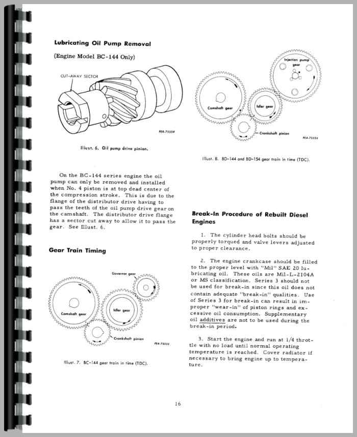international harvester 434 tractor engine service manual rh agkits com  ih 434 service manual