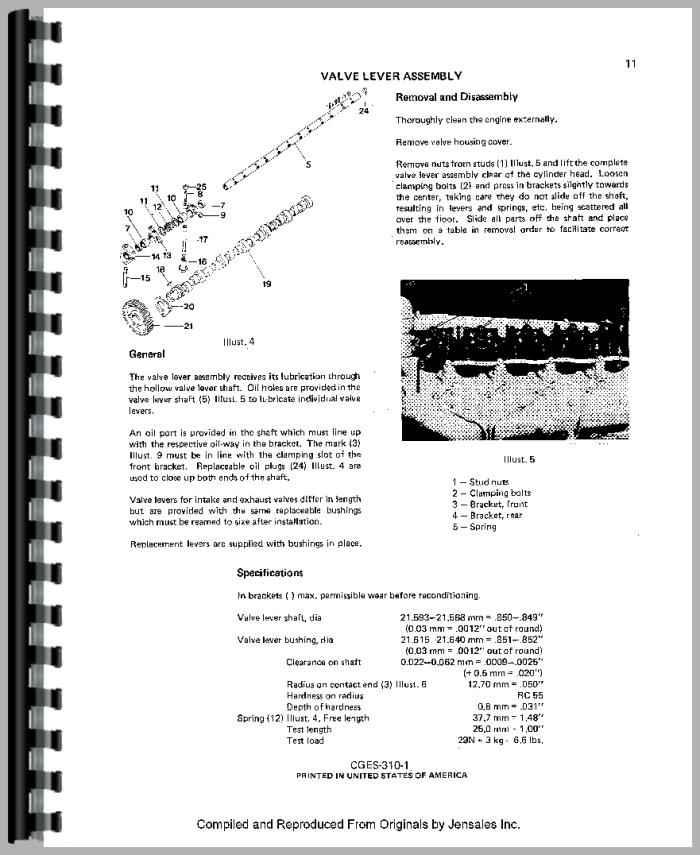 international harvester 454 tractor engine service manual rh agkits com ih 454 manual pdf ih 454 service manual pdf