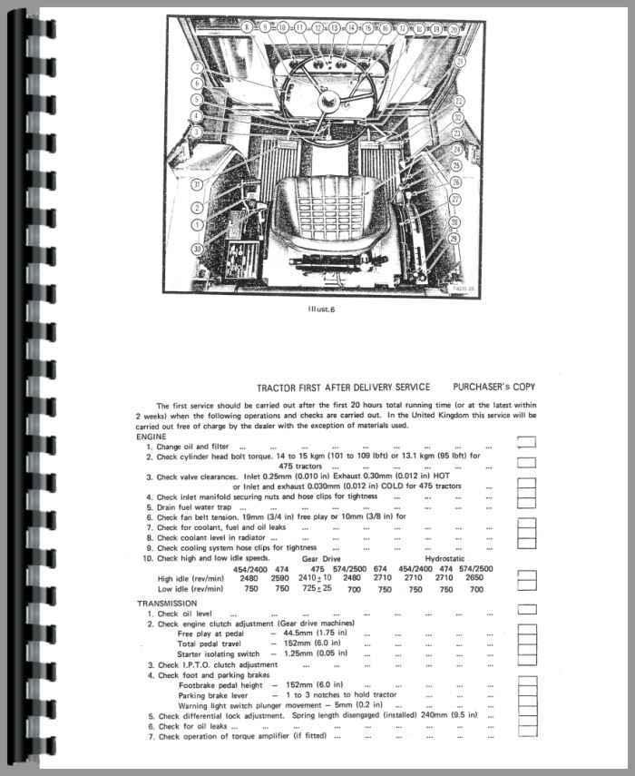 International 454 Tractor Parts Manual : International harvester tractor operators manual