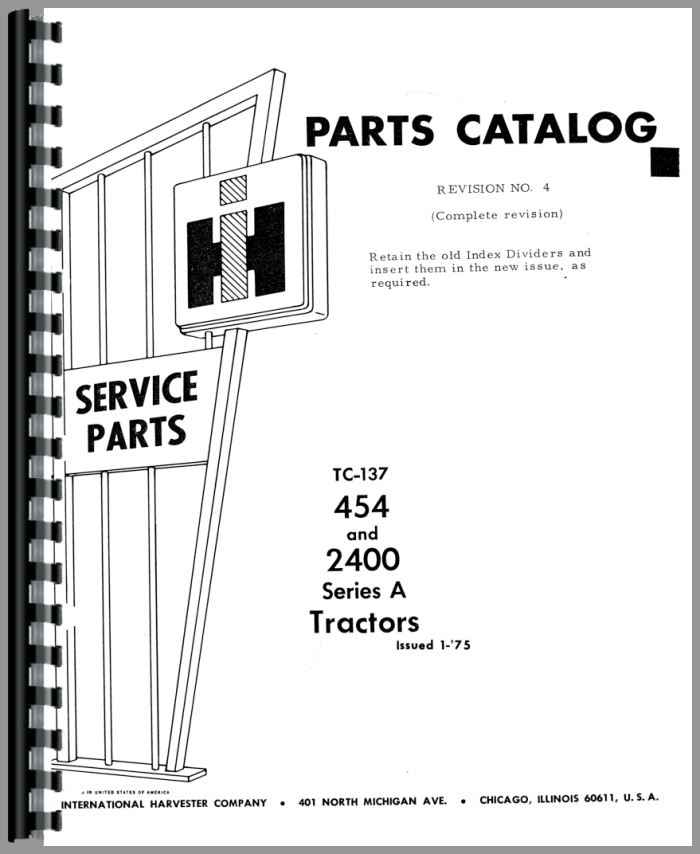International Harvester 454 Tractor Parts : Ih tractor manual free programs utilities and apps