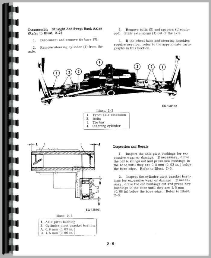 International Harvester 484 Tractor Service Manual – International Harvester 454 Series Wiring Diagrams