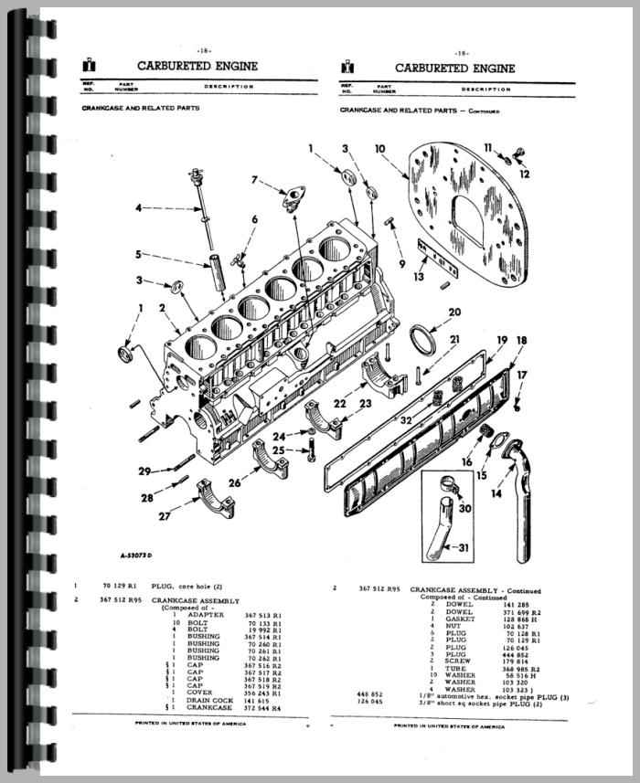 Farmall 706 Parts Diagram