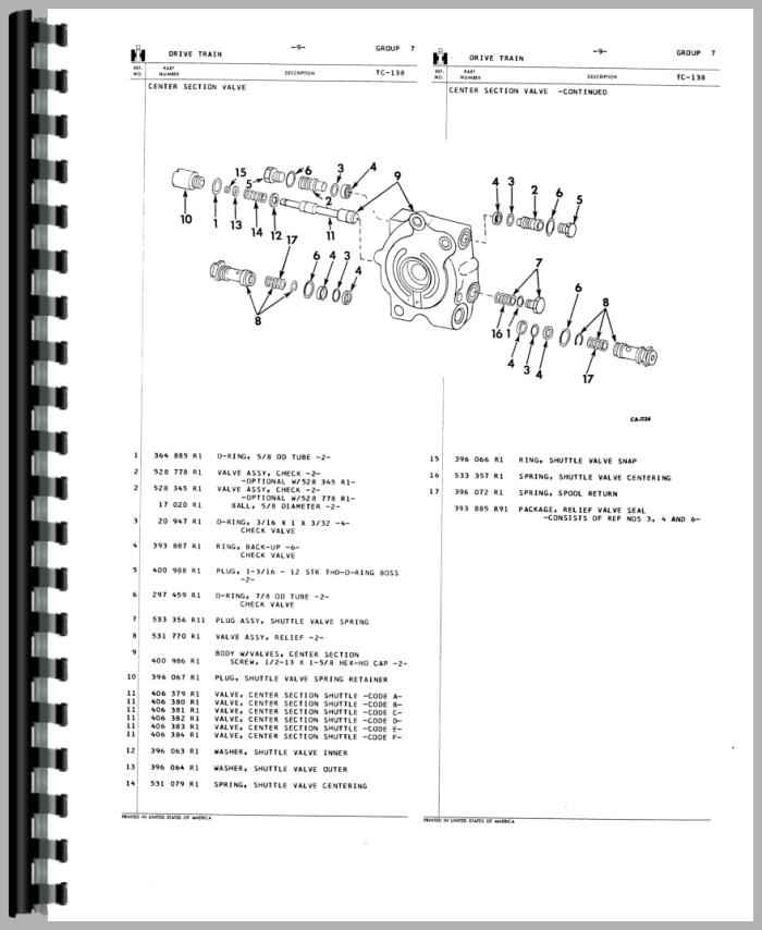 Parts For Ih 574 : Farmall tractor parts manual