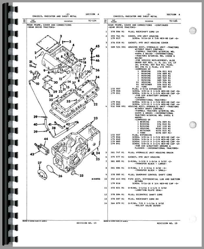 International 656 Hydro Diagrams on antique engine manuals