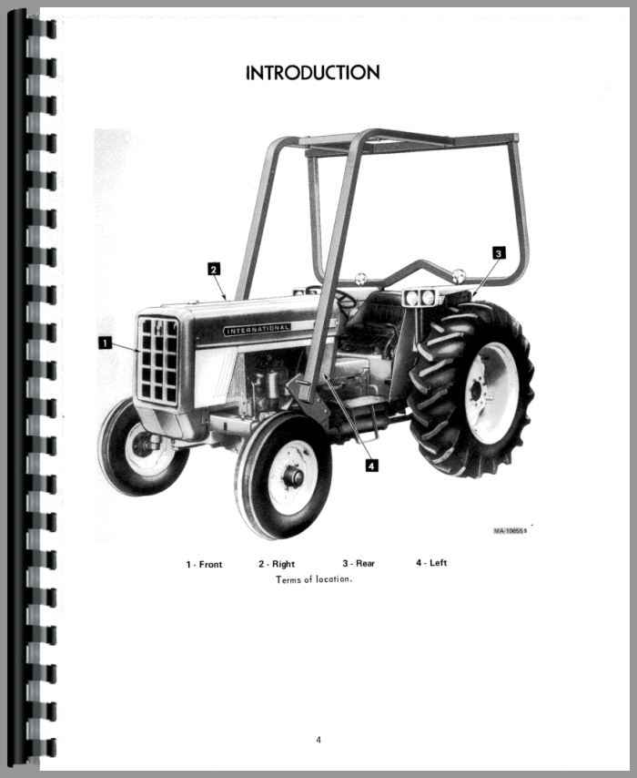 international harvester 674 tractor operators manual rh agkits com 384 IH Diesel Tractor W 1850 IH Loader 674 International Tractor Clutch Parts