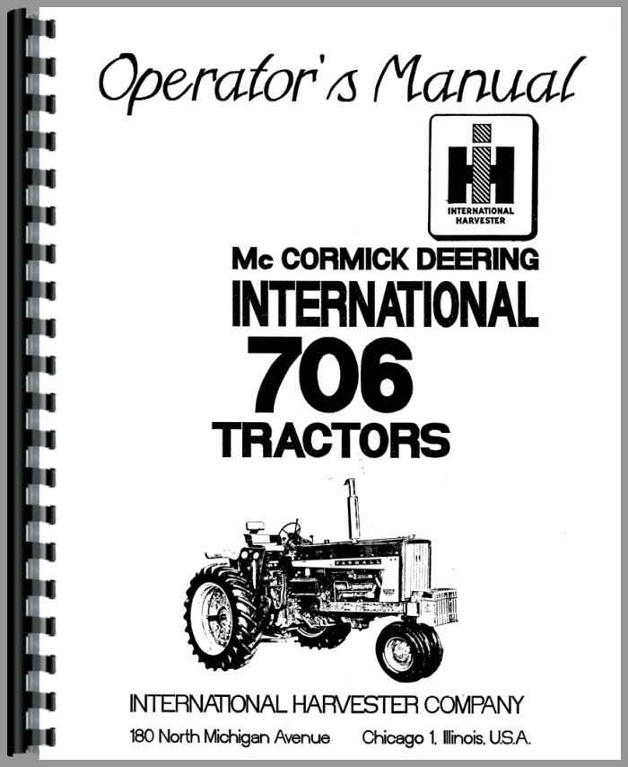 international 574 tractor parts manual
