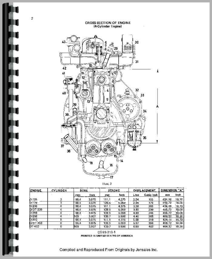 international harvester 884 tractor engine service manual rh agkits com Ford 2000 Tractor Wiring Diagram Tractor Ignition Switch Wiring Diagram
