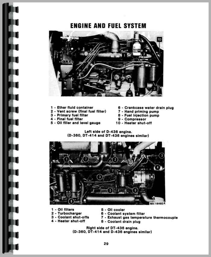 International Harvester 886 Tractor Operators Manual
