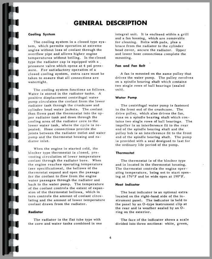 international harvester tractor repair manual