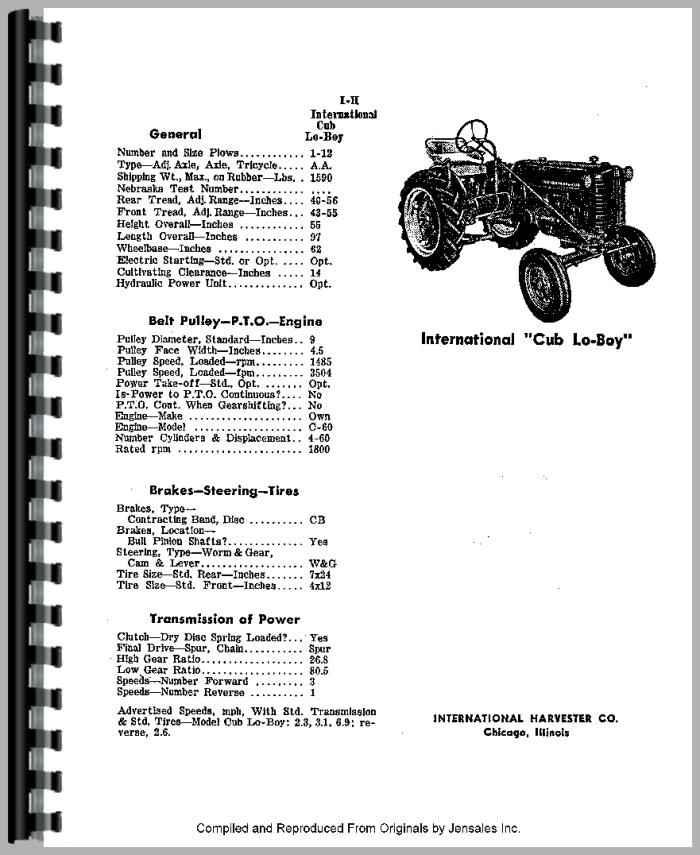 Farmall Cub Engine Diagram - Catalogue of Schemas on