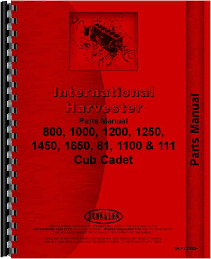 international harvester cub cadet 1450 lawn garden tractor parts rh agkits com cub cadet 1450 manual 1450 Cub Cadet Decals