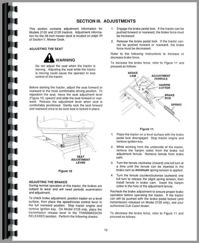 cub cadet 2130 service manual